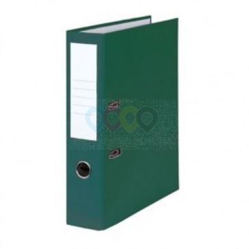 Emelőkaros iratrendező, zöld, gerincszélesség 80 mm