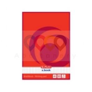 Herlitz jegyzettömb, négyzethálós, A5
