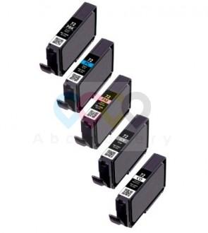 Canon PGI-72 / 6403B007 - 5 Pack (PBK,PC,PM,GY,CO)
