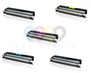 Výhodné balenie KONICA MINOLTA A0V30_ - Celá farebná sada + 2x čierny toner
