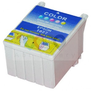 Inkjet compatible cartridge Epson T027 Color