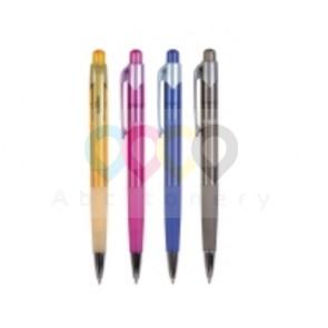 Spoko nyomógombos golyóstoll, 0,3 mm, 4 vegyes szín, 12 db/csomag