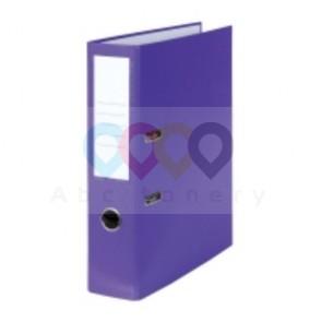 Emelőkaros iratrendező, lila, gerincszélesség 80 mm