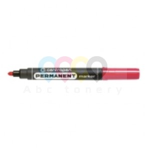Centropen 8566 permanens marker, gömbölyű hegy, piros
