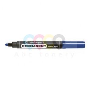 Centropen 8566 permanens marker, gömbölyű hegy, kék