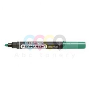 Centropen 8566 permanens marker, gömbölyű hegy, zöld